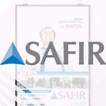 Print, Ad, Design Safir France designer/art director