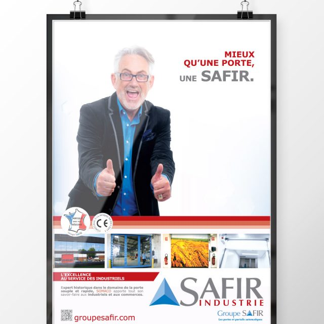 Print, Ad, Design Safir France