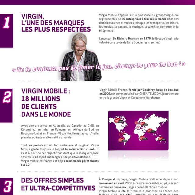 VIRGINmobile/HD, Paris, UX/design
